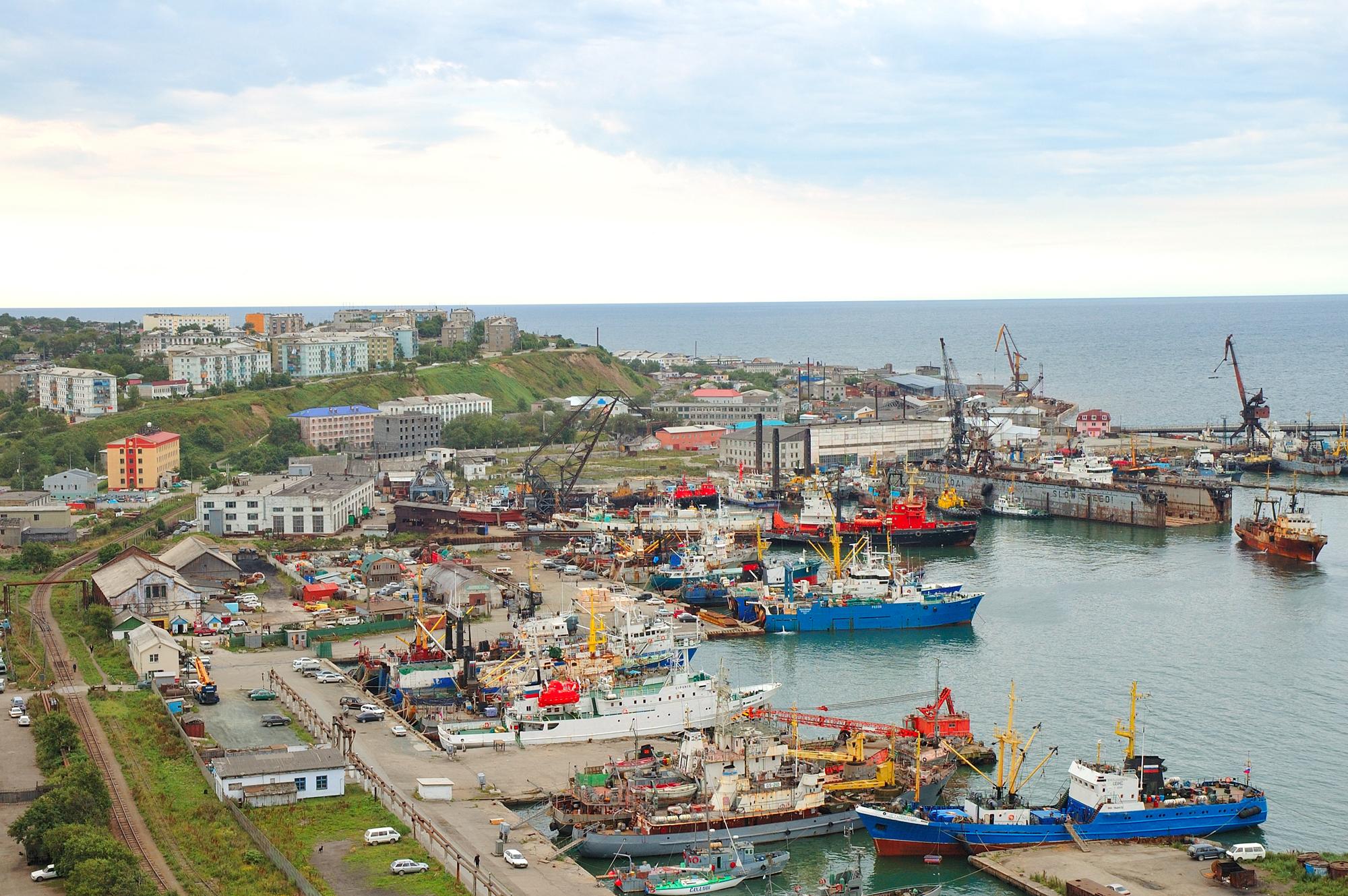 Картинки города корсакова